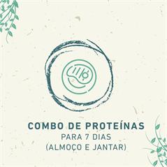 Combo de Proteínas para 7 dias (Almoço e Jantar)