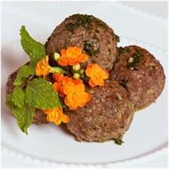 Almôndegas de Carne com Quinua ao molho Pomodoro (178g)
