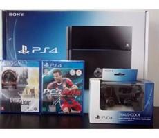 Playstation 4 500GB - 2 controles - 2 jogos a escolha - Play 4 - PS4 - Video Game - Console