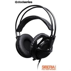 HEADSET STEELSERIES SIBERIA V2 GAMING PRETO 51101