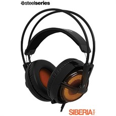 HEADSET STEELSERIES SIBERIA V2 GAMING HEAT ORANGE 51141
