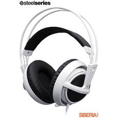 HEADSET STEELSERIES SIBERIA V2 GAMING BRANCO 51100