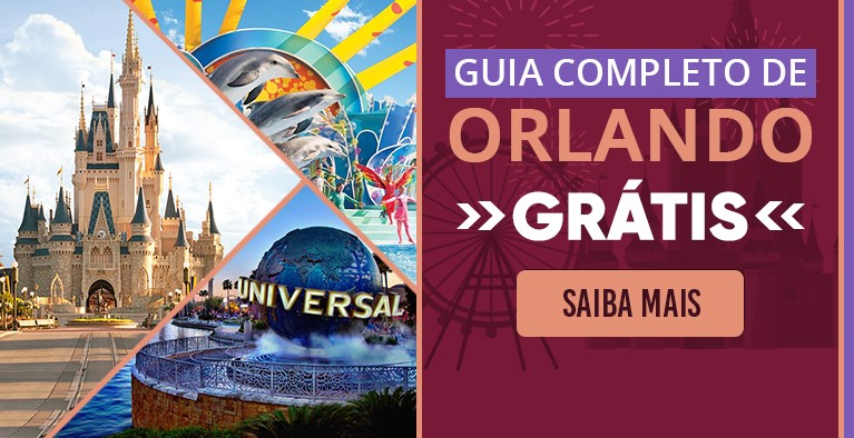 Mais de 220 páginas com tudo que você precisa saber para viajar pra Orlando!