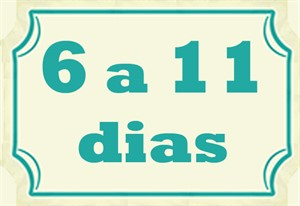 6 a 11 dias