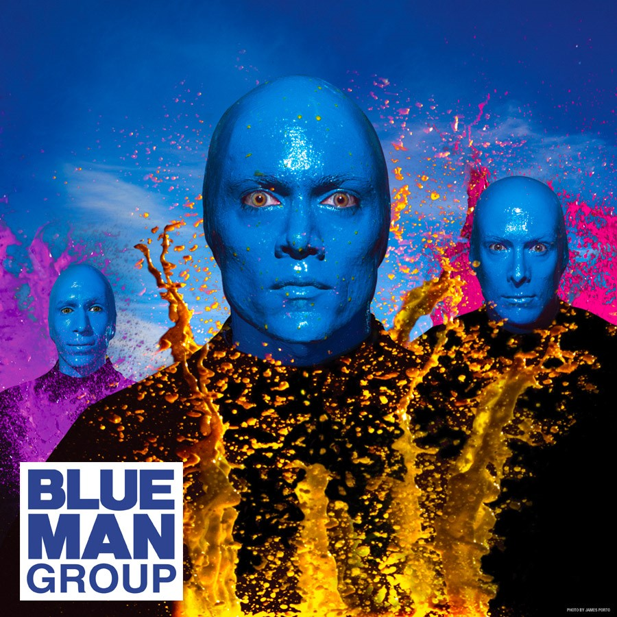 I M Blue Blue Man Group 84
