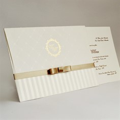 WILSON - Convite de Casamento - Linha Soft - 29x19,7cm