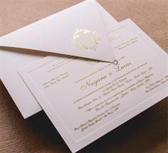 LUCAS - Convite de Casamento - Linha Tradizionale - 29 cm x 21,1 cm