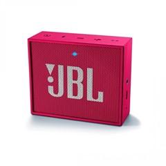 Caixa de Som Bluetooth JBL GO Pink, 3 watts.