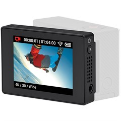 Tela LCD Touchscreen Removível - gopro