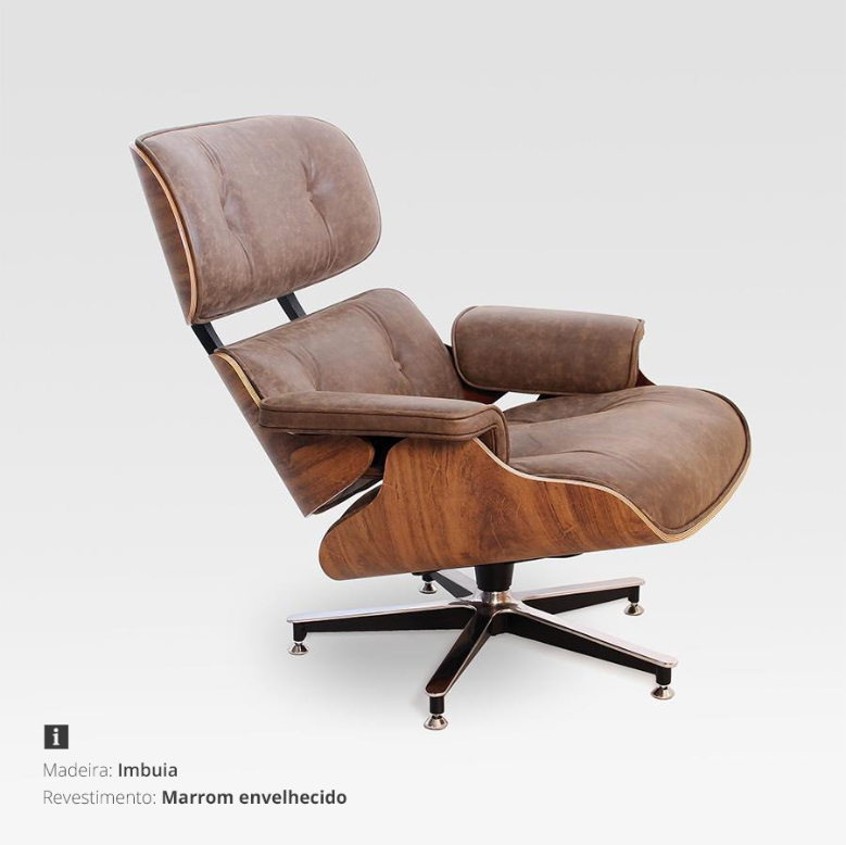 Poltrona Charles Eames Bauhaus