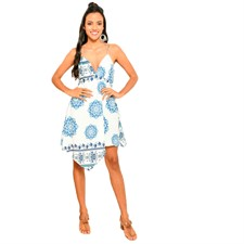 Vestido Blue Flores