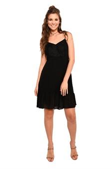 Vestido Poá Black