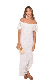 Vestido Renda White