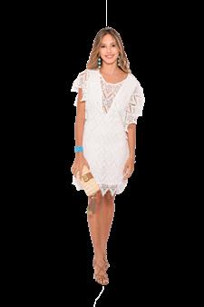 Vestido Branco Rendas