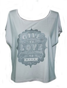 T-SHIRT GIVE TO LOVE