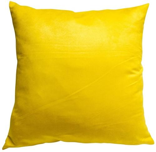 CAPA SUEDE 45 x 45 - Amarelo Quindim