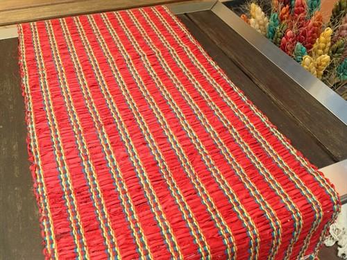 CAMINHO DE MESA 240 cm - Vermelho