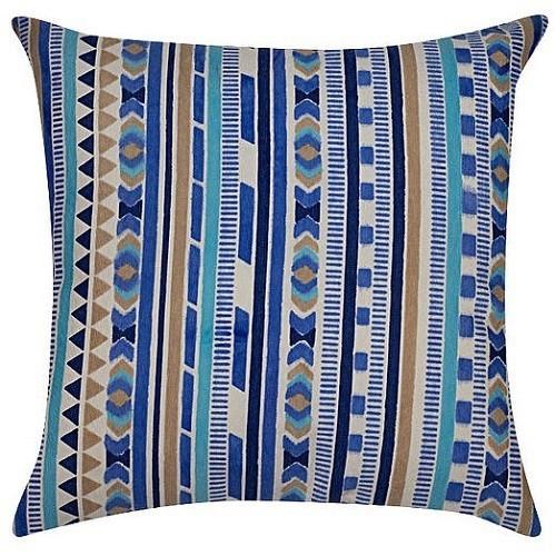 CAPA GORGURÃO INDIAN 45 x 45 - Azul
