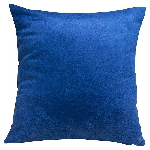 CAPA SUEDE 45 x 45 - Azul Royal