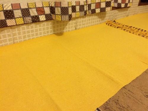 CONJUNTO DE TAPETES - Liso Amarelo