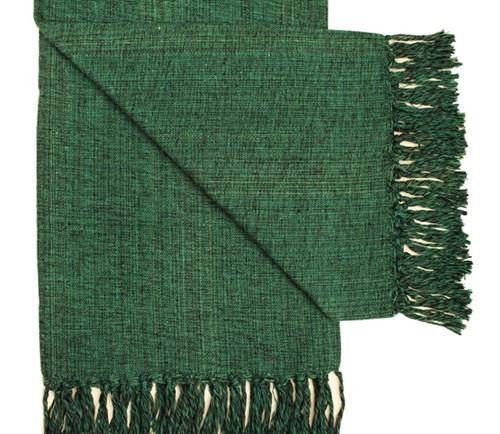 MANTA QUEEN FIO - Verde Escuro