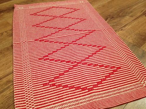 TAPETE ALGODÃO 47 x 70 - Vermelho