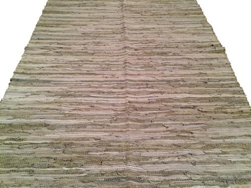 TAPETE DE COURO 140 x 200 - Gelo