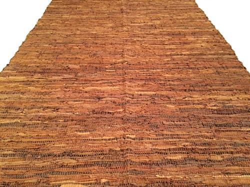 TAPETE DE COURO 160 x 230 - Chocolate