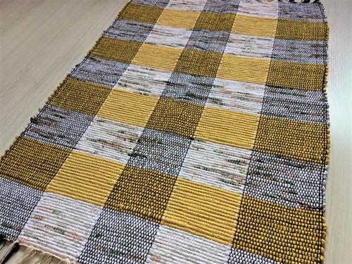 TAPETINHO DE MALHA 50 x 80 - Amarelo
