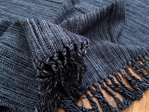 TAPETÃO TEAR FIO 138 x 190 - Azul Jeans