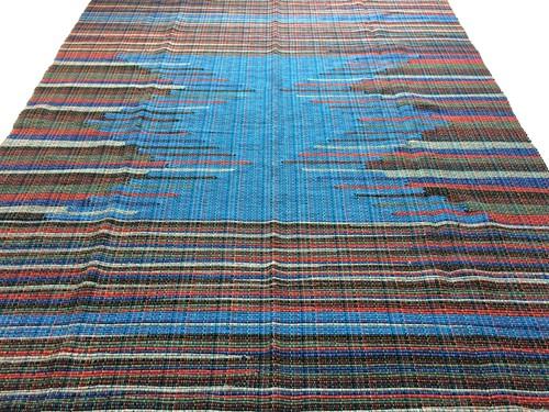 TAPETE GRANDE MALHA 140 x 200 - Bico Azul