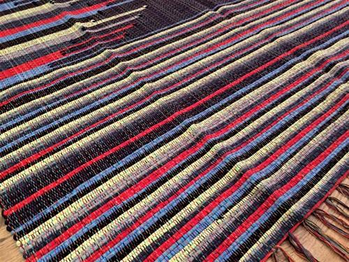 TAPETE GRANDE MALHA 140 x 200 - Bico Marinho
