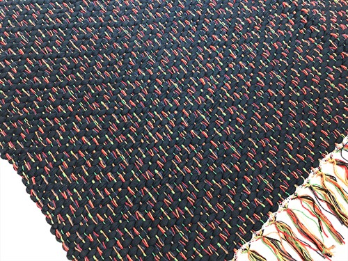 TAPETE MÉDIO COROA 70 x 200 - Marinho