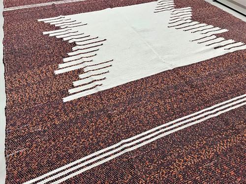 TAPETE MALHA EXTRA 180 x 230 - Laranja Mescla