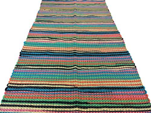 TAPETE MÉDIO MALHA 80 x 150 - Misturado
