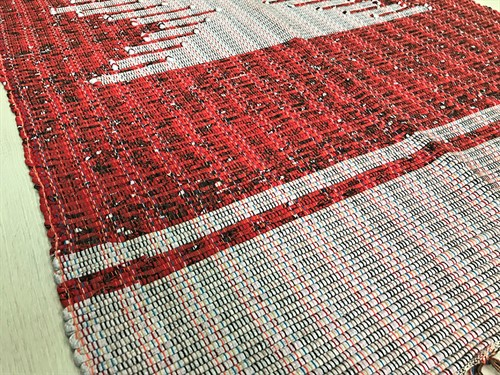 TAPETE MÉDIO MALHA 80 x 150 - Vermelho