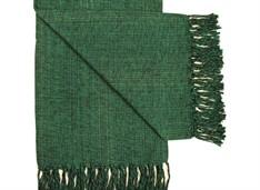 MANTA SOLTEIRO FIO - Verde Escuro