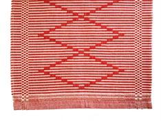 TAPETE BORDARTES 47 x 70 - Vermelho