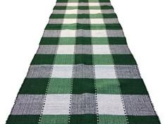 PASSADEIRA DE MALHA 150 cm - Xadrez Verde