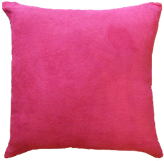 CAPA SUEDE 45 x 45 - Rosa Pink