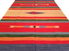 TAPETE KILIM INDIANO 200 x 250 - CORAL