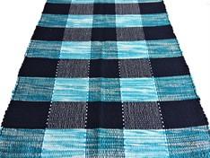 TAPETINHO DE MALHA 50 x 80 - Azul