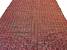 TAPETE FIO ALGODÃO 100 X 150 - Vermelho