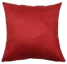 CAPA SUEDE 45 x 45 - Vermelho