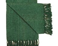 MANTA CASAL FIO - Verde Escuro