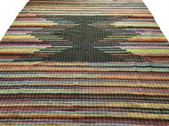 TAPETE GRANDE MALHA 145 x 200 - Bico Chumbo