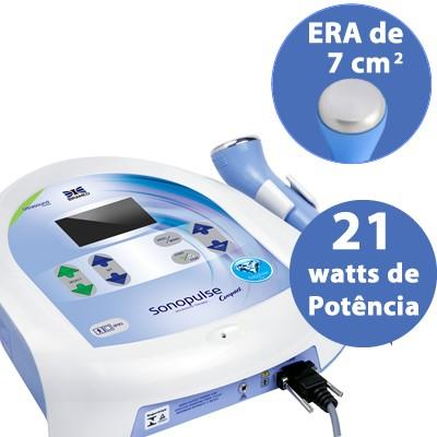 Sonopulse Compact 3MHz Ibramed - Ideal para estética e dermatologia