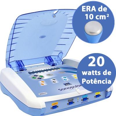 Sonopulse II - Ultrassom + terapia combinada (Russa, Polarizada, HVPS, Interferencial)