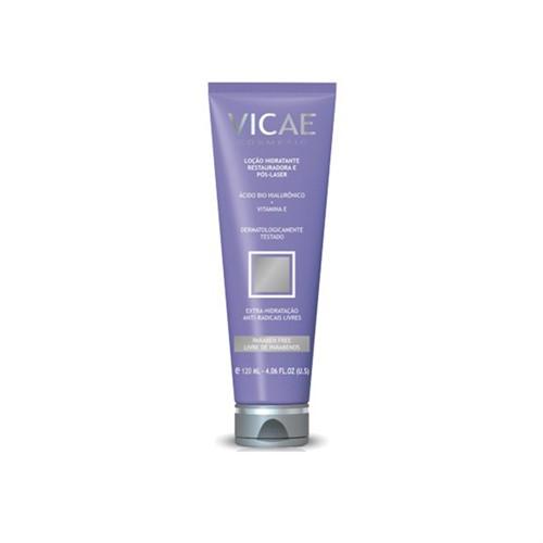Vicae loção hidratante pós-laser com ácido bio hialurônico e vitamina E