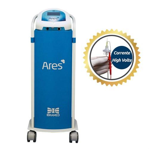 Ares Aparelho de Carboxiterapia e Corrente High Volt